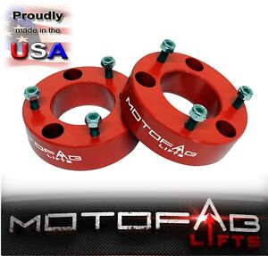 2 5 Front Leveling Lift Kit For 2007 2019 Chevy Silverado Gmc Sierra 1500 Red