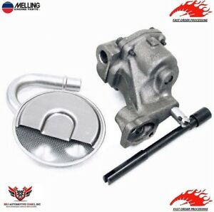 Melling Sbc Oil Pump Kit M55 Small Block Chevy 350 383 Screen And Drive Rod