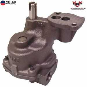 Melling Chevy Sbc 283 305 307 327 350 400 High Volume Oil Pump M55hv