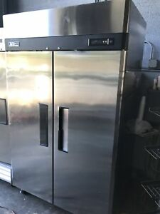 Turbo Air M3f47 2 M3 Series 52 Solid Door Reach In Freezer