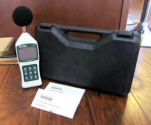 Extech Decibel Sound Level Meter With Pc Interface 30 130 407750 New