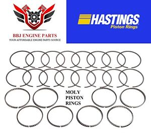 Chrysler Dodge Mopar 383 Hastings Moly Piston Rings