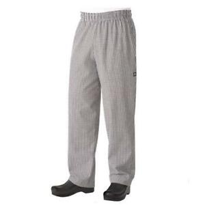Chef Works Classic Baggy Chef Pants Checkered All Sizes