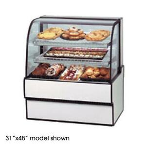Federal Cgd7748 Curved Glass 77 X 48 Non refrigerated Bakery Case
