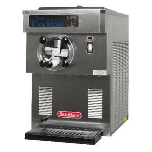 Saniserv 704 Countertop 28 Gal hr 35 Qt Frozen Beverage Machine