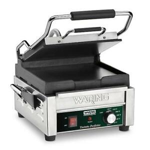 Waring Wfg150 Tostato Perfectto Panini Press Sandwich Grill