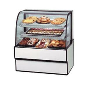 Federal Cgd3148 Curved Glass 31 X 48 Non refrigerated Bakery Case