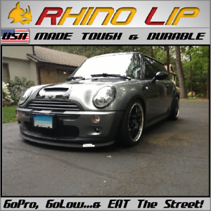 Mini Cooper Gp R55 R56 R57 Clubman Cooper D Traveller S Flexible Rubber Chin Lip
