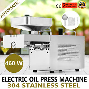 Automatic Oil Press Machine Stainless Steel Oil Expeller Sesame Seeds Pure Oil