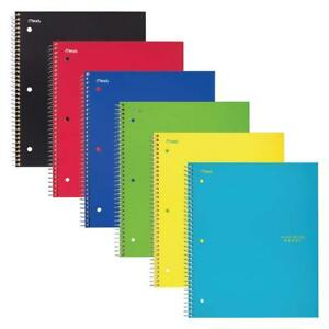 Five Star Spiral Notebook 1 Subject Graph Ruled Paper 100 Sheets 11 6pack