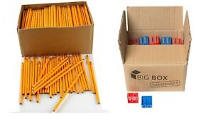 Wholesale Lot Of 50 Yellow No 2 Pencils 50 Dual Hole Pencil Sharpeners Bundle
