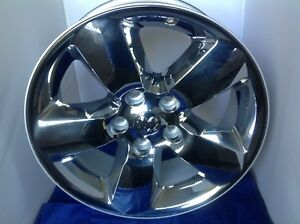 20 Inch 2013 2017 20x8 Dodge Ram 1500 Oem Chrome Clad Alloy Wheel Rim 2450 2495
