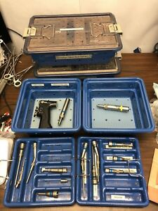 Lot Stryker Neuro Drill 5400 99 Core Universal Driver 5400 34 Core Sagittal Saw