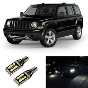 Total 1600lm White 921 Led Reverse Backup Light Bulbs For 2007 2016 Jeep Patriot