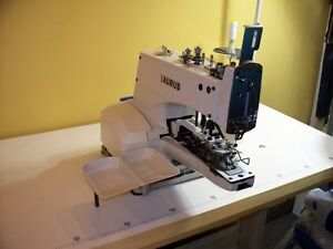 377 Button Sewing Machine All New Industrial taurus Last One