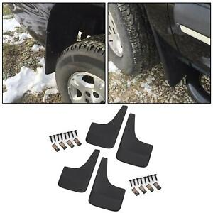 Mud Flap Splash Guard Front Rear Lh Rh Set Of 4 For Chevy W O Fender Flares
