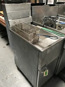 Pitco 40s 40lb Commercial Deep Fryer