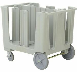 Open Box Cambro S Series Speckled Gray Dish Plate Holder cart caddy Adjustable
