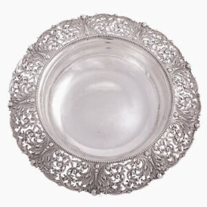 Marcus Co Sterling Silver Centerpiece Bowl