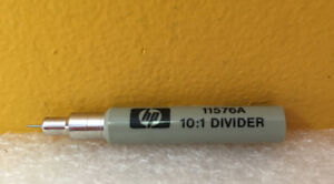 Hp Agilent 11576a 10 1 Probe Divider For 85081b 8405a Tested