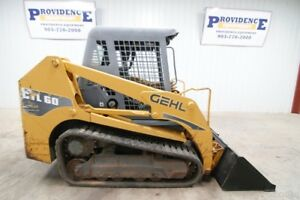 Gehl Ctl60 Skid Steer Loader 66hp Tipping Load Of 4 630 Lbs Standard Flow