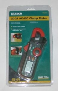 Extech Ma120 Mini 200 Amp Ac dc Mini Clamp Meter Voltage Detector