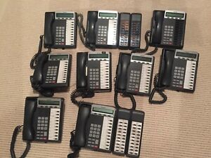 Toshiba Strategy Flash Digital Phone System Ivp8 Model dkt3210 sd 10 Piece