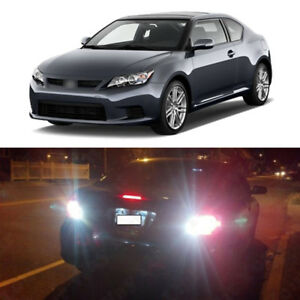 Total 1600lm White 921 Led Reverse Backup Light Bulbs For 2005 2016 Scion Tc