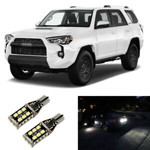 Total 1600lm White 921 Led Reverse Backup Light Bulbs For 2001 2017 2018 4runner