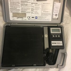Tif 9010a Slimeline Electronic Refrigerant Scale With Case l hmtp
