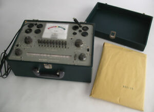 Knight 600a Tube Tester W Instructions Diagrams More Complete Working