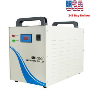 Industrial Water Chiller Cw 3000 For Cnc Engraver Engraving Machine Usa Ship