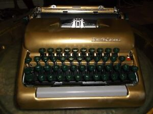 Smith corona Vintage 1950s Portable Manual Portable Typewriter