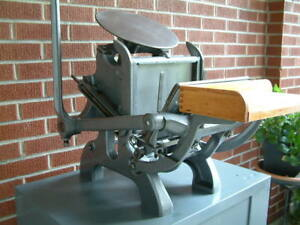 Chandler Price pilot New Series Letterpress Printing Press Outfit Extras