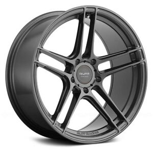 For Ford Mustang 12 14 Ruff Racing Rs1 Wheels 18x10 40 5x114 3 4 Rims Set