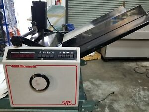 Pierce Sn 4000 Micromatic Numbering Machine