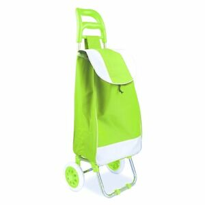 Portable Rolling Shopping Cart Heavy Duty Bag Wheeled Folding Water Resistant