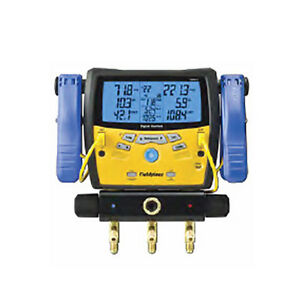 Fieldpiece Sman340 Three port Digital Manifold With Clamps