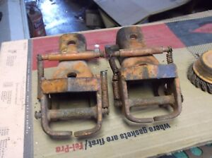 Allis Chalmers Wd Wd45 Tractor Snap Couplers Hands Hand Coupler 2 Ac D14 D15