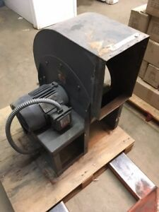 Squirrel Cage Fan Toshiba 3 Phase Motor Used