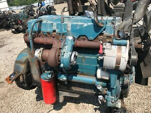 1999 International Dt466 Diesel Engine Running Take Out 175 Hp