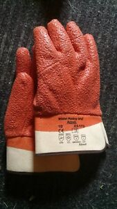 Ansell 23 173 10 Size 10 6 Pair Winter Monkey Grip Cold Weather Gloves