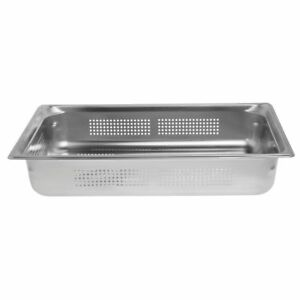 Vollrath Super Pan 3 Full Size Stainless Steel Perforated Steam Table Pan 4 d