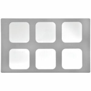 Vollrath Miramar 1 6 Size White Stone Resin Contemporary Food Pan Template 20