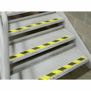 Anti slip Grit Tape Roll Yellow black Pvc 2 W X 60 l