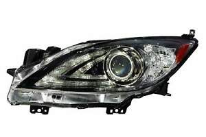 Driver Left Hid Headlight Unit For 2010 2013 Mazda 3 W o Drl Priority Shipping