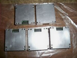 Lot Of 5 analog Devices Clx130818 Ad02241502 Units Untested