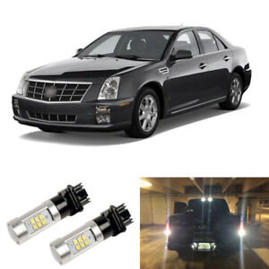 2000lm White 3156 3157 Led Reverse Backup Light Bulbs For 2005 2011 Cadillac Sts