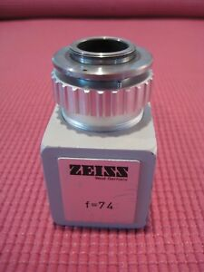 Zeiss F 74 Camera Adapter For Opmi Surgical Microscopes With 3ccd Digital Camera