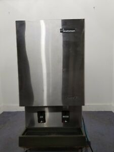 Scotsman Mdt5n40a 1b Countertop Air Cooled Ice Machine And Dispenser